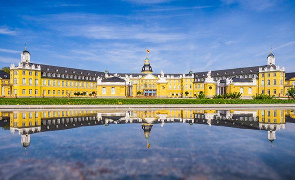 Karlsruhe on a sunny day, Germany