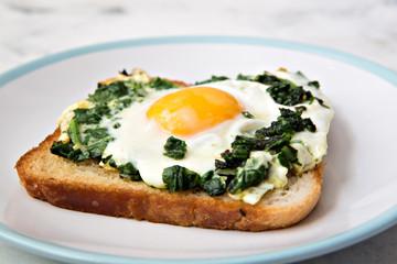 cooked Breakfast egg fried vegetables salad  healthy food