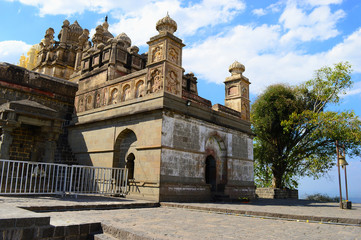 Bhuleshwar Temple, Pune, Maharashtra, India.
