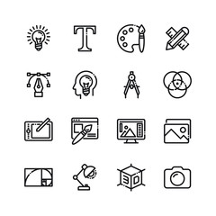 Graphics and Web Design icons