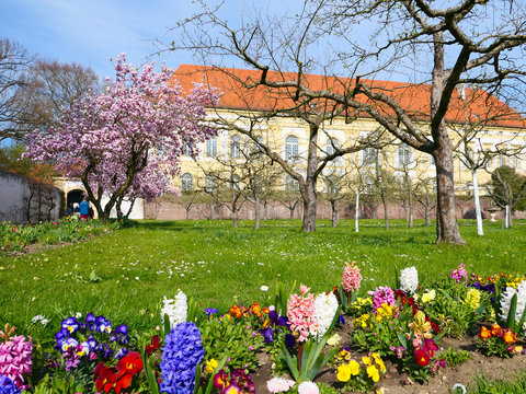 Bayern - Schlossgarten in Dachau