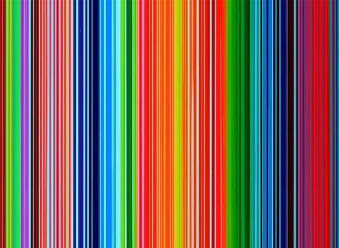 Texture of bright colorful striped wallpaper, vector illustration.