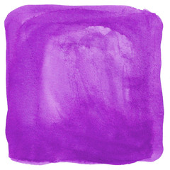 Purple watercolor as a background texture
