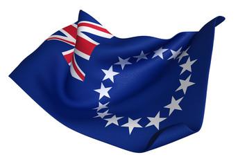 クック諸島 国旗  比率1:2