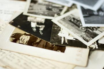 Nostalgic Old Photographs and Documents
