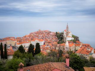 City of Piran in Slovenia