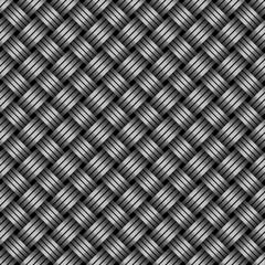 Steel seamless texture, vector illustration.