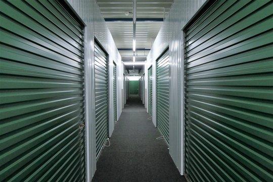 Hallway storage units