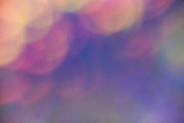 Beautiful gentle bokeh in pastel colors. Texture, background, postcard, banner, romance, design.