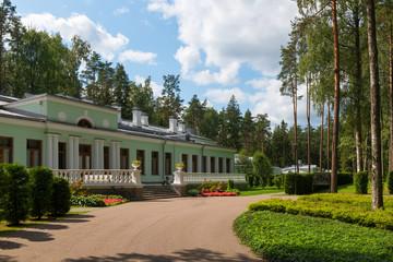 Dacha of Joseph Stalin in Valdai on a summer day