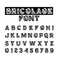 Fancy Modern Alphabet