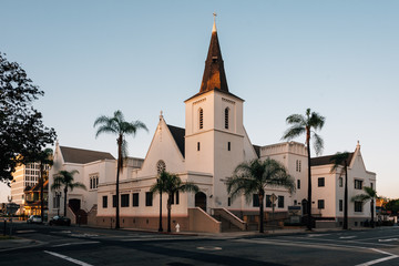 The First Presbyterian Church, Santa Ana, California Wall mural