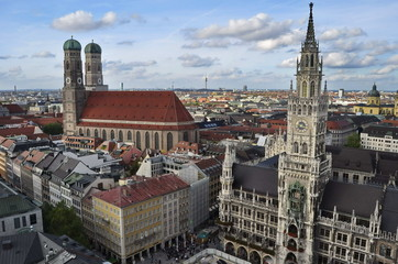 Town hall of Munich, Germany