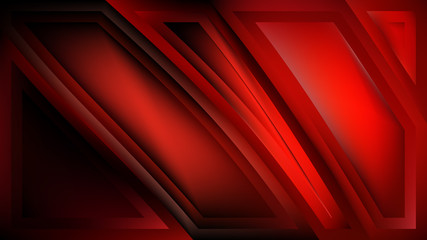 Wall Mural - Cool Red Background Vector Image