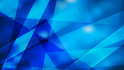 Wall Mural - Blue Lines Stripes and Shapes Background Vector Graphic