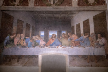 Picture The Last Supper by Leonardo da Vinci