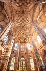 St. Lorenz Kirche in Nuremberg, Germany
