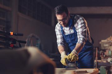 Carpenter finishing work