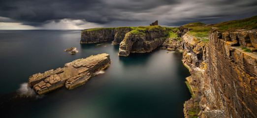 Old Wick Castle Panorama