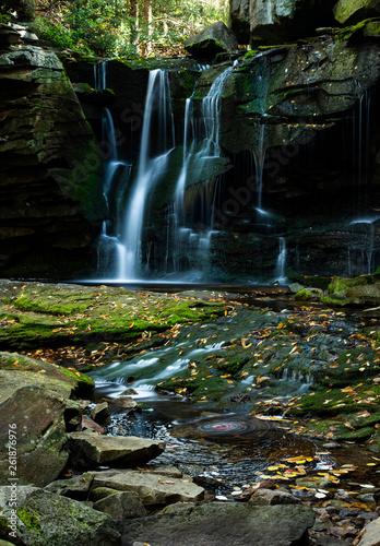 Deep In Heart Of Emerald Forest >> West Virginia Elakala Area Waterfall Deep In The Heart Of Blackwater