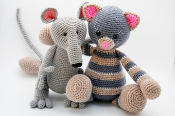 Crochet Amigurumi Mouse With Video Tutorial | Вязаные куклы ... | 240x360