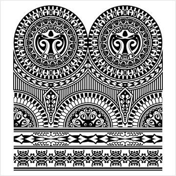 Half Sleeve Tribal Tattoo Design