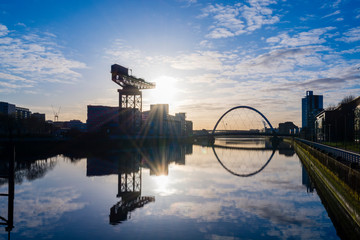 River Clyde Sunrise 1