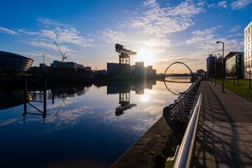 River Clyde Sunrise 3