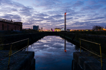 Govan Docks Sunrise 1