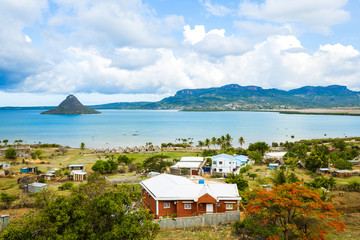 The sugarloaf of Antsiranana bay (Diego Suarez), northern Madagascar Fototapete