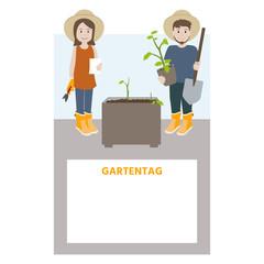 Einladung zum Gartentag