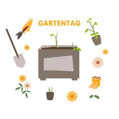 Doodle Gartentag
