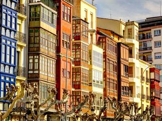 Wall Mural - Logrono landmarks, Spain