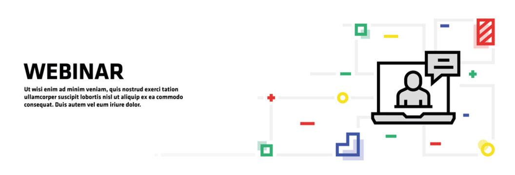Webinar Banner Concept