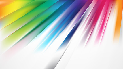 Wall Mural - Colorful Diagonal Lines Background