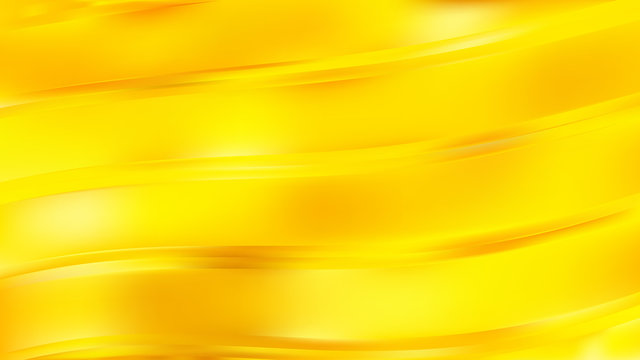 Abstract Yellow Wave Background Graphic