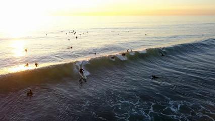 Surfers Surfers Swamis Beach Encinitas California ©2019 Stuart Edmondson