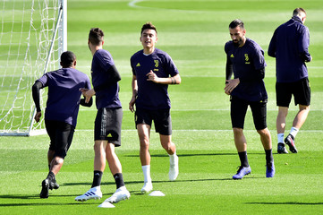 Champions League - Juventus Training