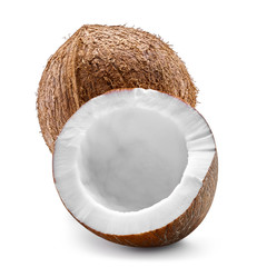 Coconut isolated Clipping Path