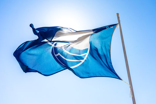 Blue flag beach of Crete