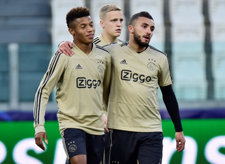 Champions League - Ajax Amsterdam Training