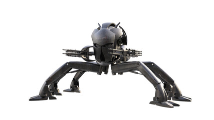 scifi military droid