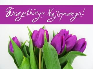 Obraz Kartka kwiaty - fototapety do salonu