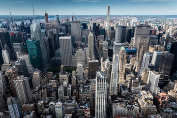 Autocollant pour porte New York New York Manhattan