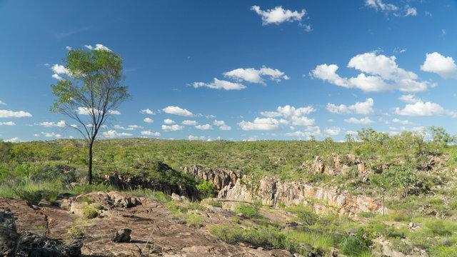 A huge Nitmiluk (Katherine) Gorge in Northern territory, Australia