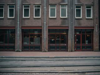 Classical european architecture. Cityscape of Amsterdam, Holland Fototapete