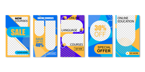 Online Language Courses, Education. Special Offer.