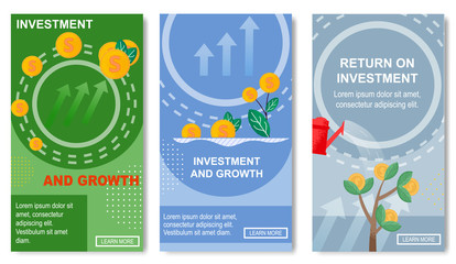 Investment and Growth, Return for Social Media.