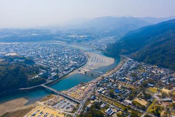 Kintaikyo bridge in iwakuni