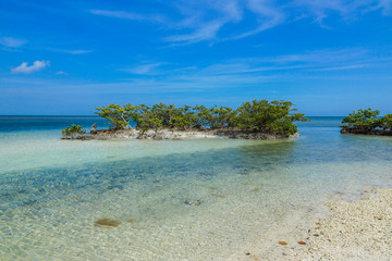 Boca Chita Key in Biscayne National Park in Florida, United States